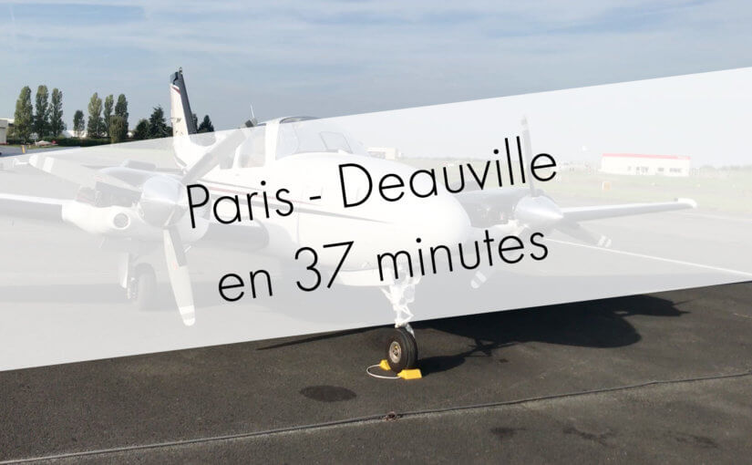 Paris to Deauville in 37 minutes